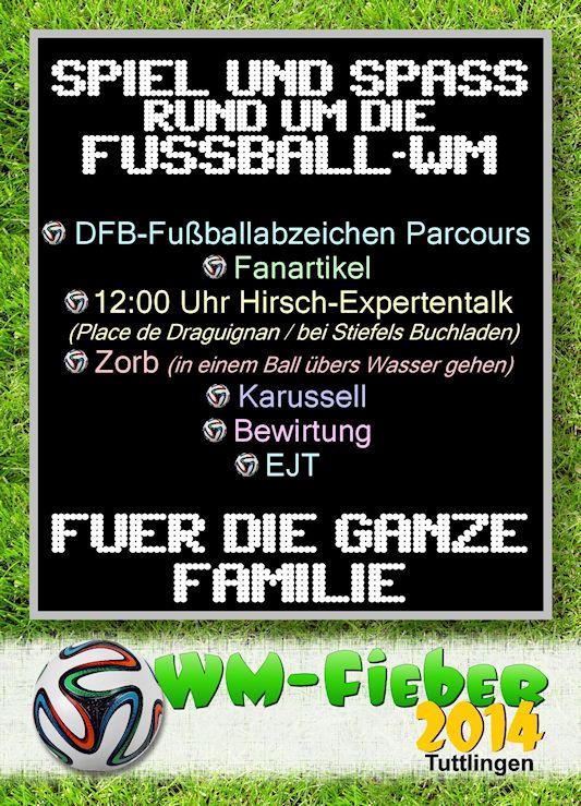 WM-Fieber Flyer