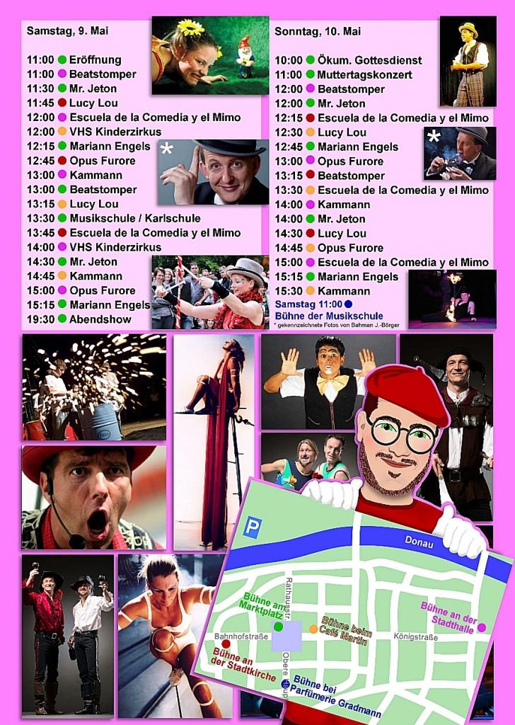Gauklerfest 2015 Programm