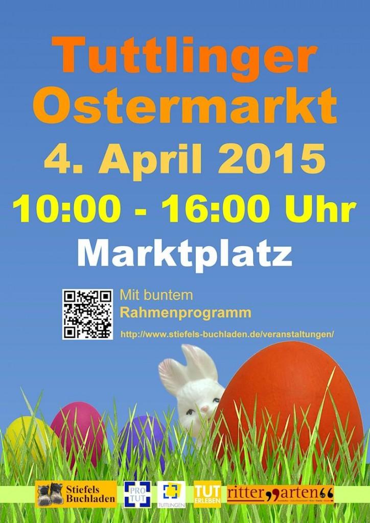 Plakat Ostermarkt 2015 Jk