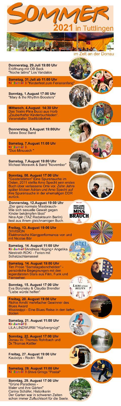 Programm - Sommer in Tuttlingen 21