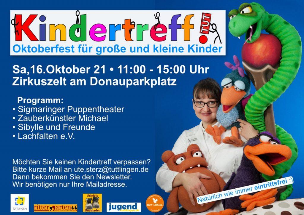 Programm Kindertreff 16.10.21
